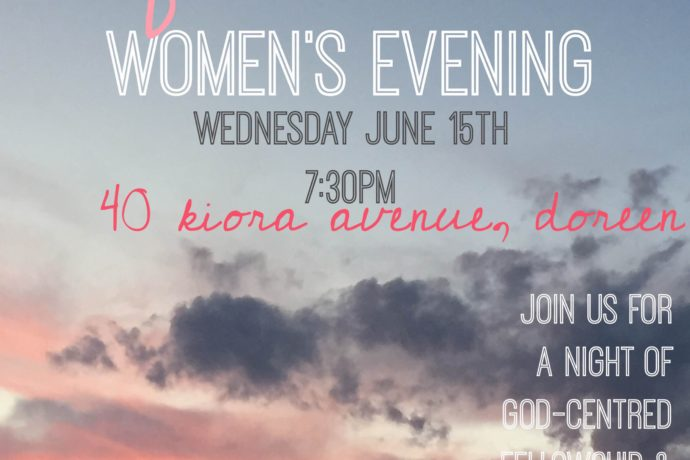 womens event 15th June